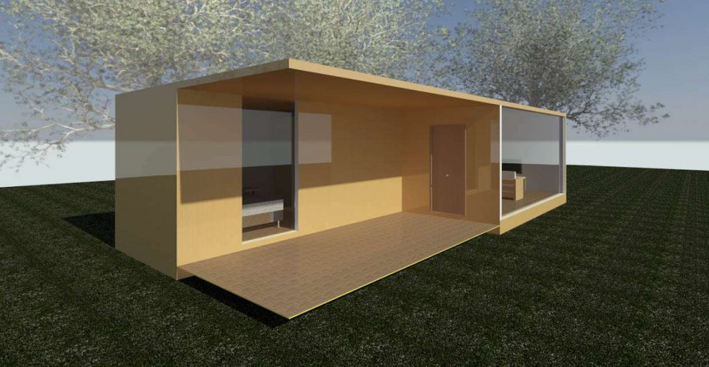 Casas hechas de contenedores icc iberia cranes - Casa de contenedores ...